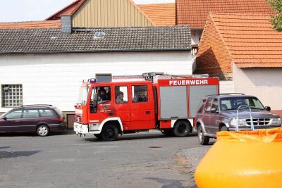 Fotoalbum Übung Löscheinsatz der Jugendfeuerwehr am Oktoberfest 2009