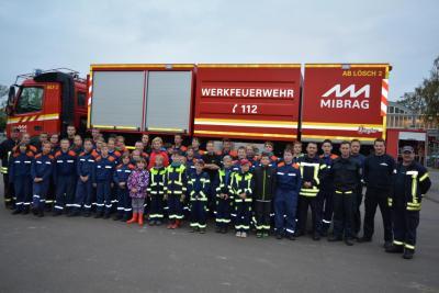 Fotoalbum Zu Besuch bei Feuerwehr MIBRAG