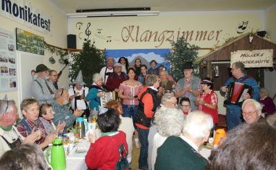 Fotoalbum Wir schnüren unser Ränzlein im Klangzimmer Rathstock