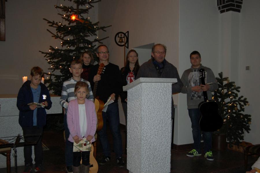 Amt Eldenburg Lübz - Weihnachtsklänge in Pogress