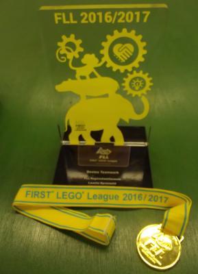 Fotoalbum Animal Allies - FIRST LEGO League 2016/2017