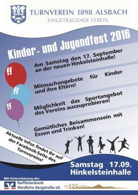 Fotoalbum Kinder- und Jugendfest 2016