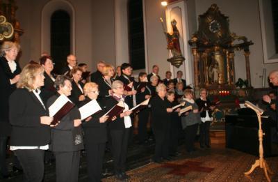 Fotoalbum Kirchenchorkonzert 18.12.2016