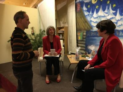 Fotoalbum TV-Star Uta Schorn zusammen mit Eva-Maria Pieckert