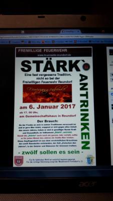 Fotoalbum STÄRK-ANTRINKEN bei der Feuerwehr Reundorf