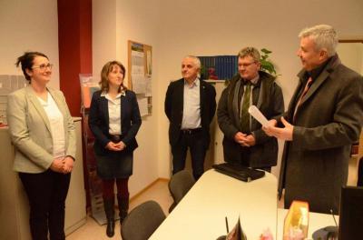 Fotoalbum Kurstadtregion-Bürgermeister besuchen Standesamt in Bad Liebenwerda
