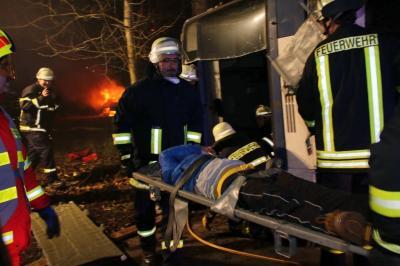 Fotoalbum Jahresabschlussübung 2016 der Feuerwehren der VG Rheinböllen