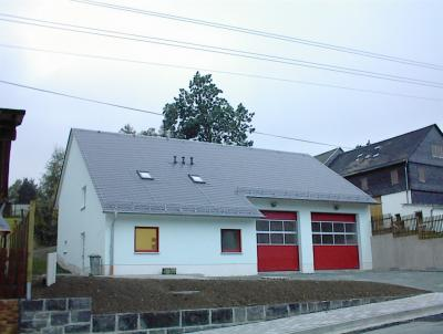Fotoalbum Errichtung Feuerwehrgerätehaus