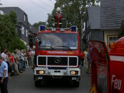 Fotoalbum 120 Jahre Feuerwehr Burglemnitz