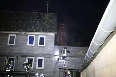 Fotoalbum Simulierter Wohnhausbrand gleich in zwei Objekten