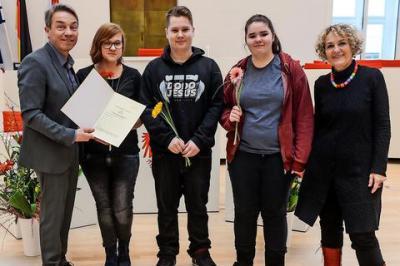 Fotoalbum Granseer Schülerzeitung gewinnt Wettbewerb