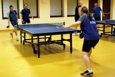 Fotoalbum Tischtennistraining