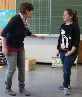 Fotoalbum Gewaltpräventionskurs mit Frau Daub