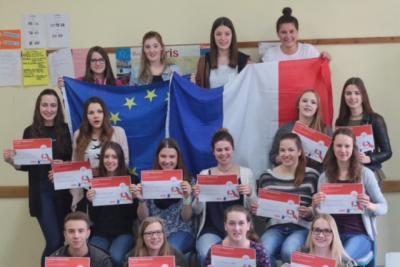 Fotoalbum Internet-Teamwettbewerb Französisch 2017