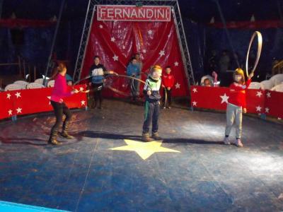 "Fotoalbum Projektunterricht mit dem Zirkus ""Fernandini"""