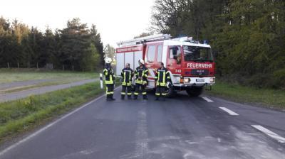 Fotoalbum Öl nach Verkehrsunfall - K169