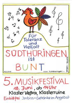 Fotoalbum Südthüringen ist bunt - 5. Musikfestival