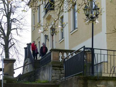 Fotoalbum Impressionen von Schloss Hirschstein April 2017