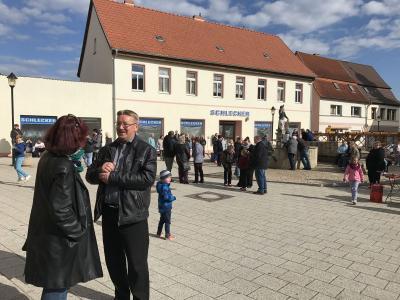Fotoalbum Maibaum stellen in Gerbstedt