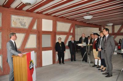 Fotoalbum Übergabe der Ehrentafel Immaterielles Kulturerbe Gochsheim und Sennfeld