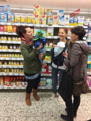 Fotoalbum Eltern-Baby-Treff: Einkaufstraining mit Verbraucherzentrale EKG