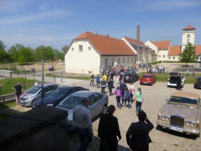 Fotoalbum Grundschule Groß Machnow - Feierliche Eröffnung der neuen Kletterkonstruktion