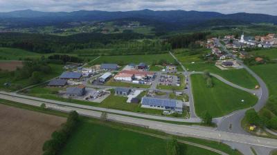 Fotoalbum 1. Tag der offenen Tür im Gewerbepark Hohenau Luftaufnahmen
