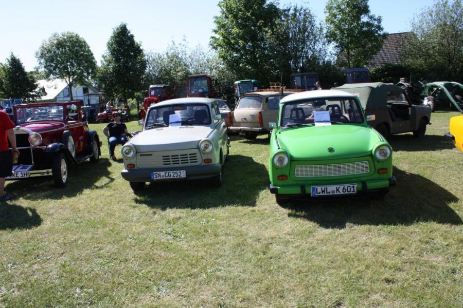 Amt Ludwigslust-Land - 2. Oldtimer- und Traktorentreffen in Boldela