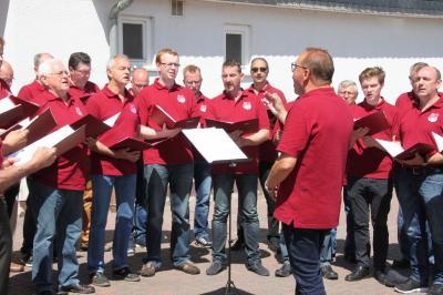 Fotoalbum Neuer Dorfplatz in Kraftsolms jetzt offiziell eingeweiht