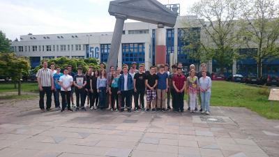 Fotoalbum Robin Breidenbach (10d) bei Landeswettbewerb Physik erfolgreich