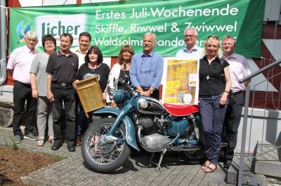 Fotoalbum 2. Hessisches Skifflefest steigt in Waldsolms