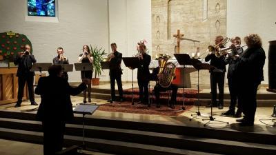 """Fotoalbum Konzert """"Spirit of Brass"""" der Berufsfachschule Bad Königshofen am 09.05.2017"""