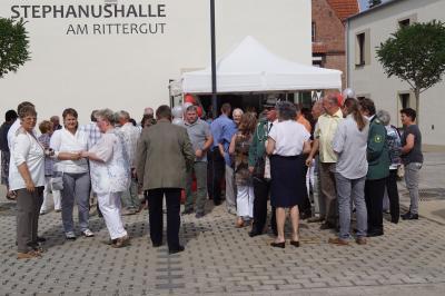 Fotoalbum Einweihung der Stephanushalle am Rittergut