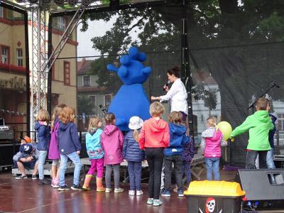 Fotoalbum Theo Tintenklecks zum Hanse-Stadtfest in Kyritz
