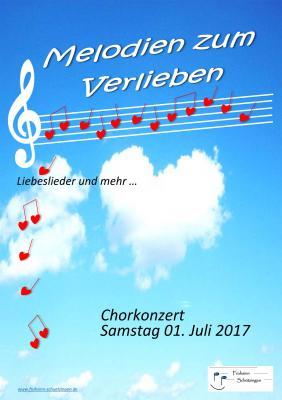 """Fotoalbum """" Melodien zum Verlieben"""" - Chorkonzert"""