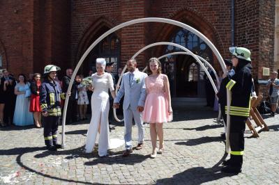 Fotoalbum Hochzeit des Perleberger Kameraden Christian Meyer