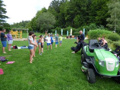 Fotoalbum Ferienprogramm 2017 - Schnuppertauchen am Naturena Badesee