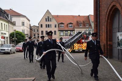 Fotoalbum Hochzeit des Ortswehrführers Christoph Passow aus Perleberg