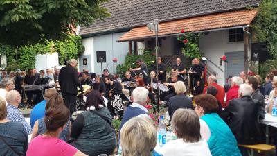 Fotoalbum Live im Hof 2017: Big Band 82