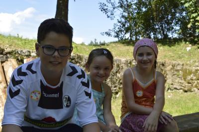 Fotoalbum Ferienprogramm 2017 - Aktionstag Obermettingen mit Übernachtung