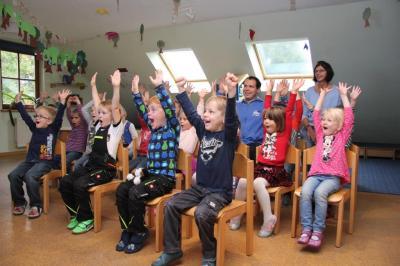 Fotoalbum Schorni zu Gast in Alheim Kitas