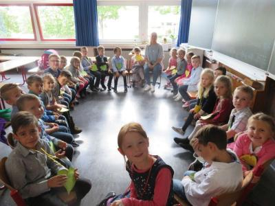 Fotoalbum Einschulung im Schuljahr 2017/2018