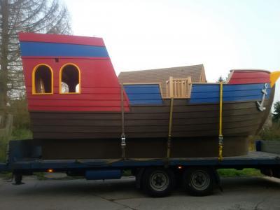 Fotoalbum Ein Schiff ist gekommen