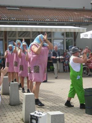 Fotoalbum Sommerfest 2017 im Hof unseres Wohn- und Pflegezentrums