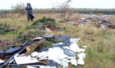 Fotoalbum Müllentsorgung Umflutehle