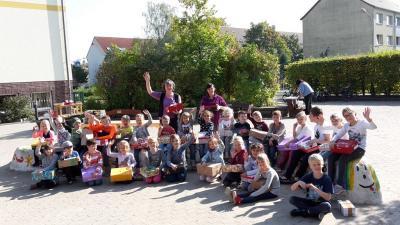 Foto des Albums: Begrüßung der Schulanfänger und Weltkindertag (10.10.2017)