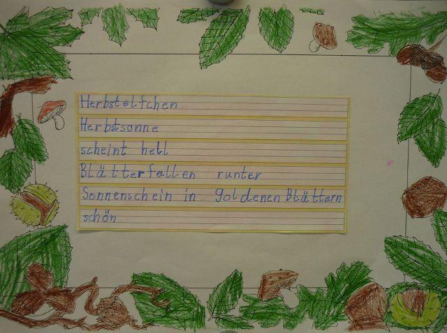 Friedrich Ludwig Jahn Grundschule Luckenwalde Klasse 2b Herbst