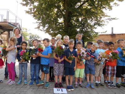 Fotoalbum 1. Schultag_Begrüßung der Klasse 1a und b