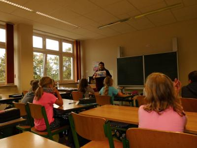 Fotoalbum Buchleseung Klasse 3