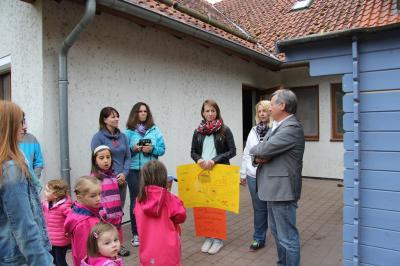Fotoalbum Einweihung Spielgeräte Baumbach
